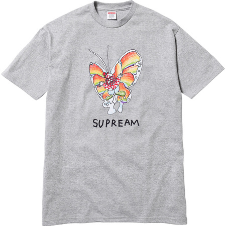 acc3a0554 ... Gonz Butterfly Tee (Heather Grey); Supreme Gonz Butterfly ...