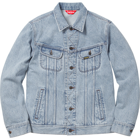 Denim Trucker Jacket (Washed Blue)