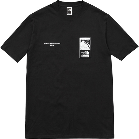 Supreme north face t shirt