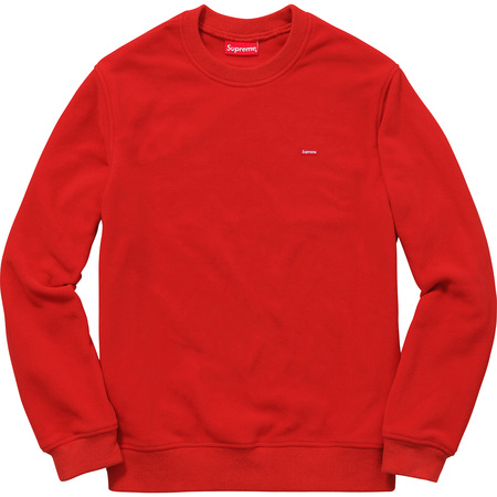 Polartec® Fleece Crewneck (Red)