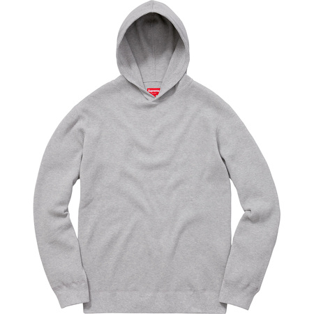 Hooded Waffle Thermal (Heather Grey)