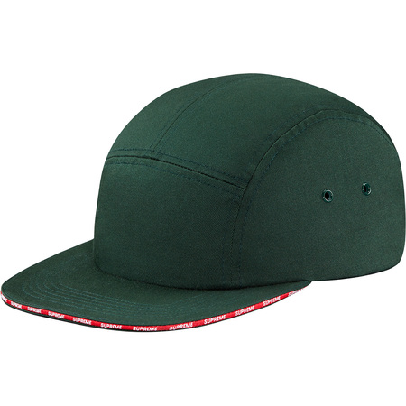 Visor Logo Camp Cap (Pine Green)