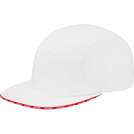 Visor Logo Camp Cap (White)