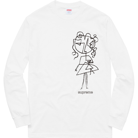 Sketch L/S Tee (White)