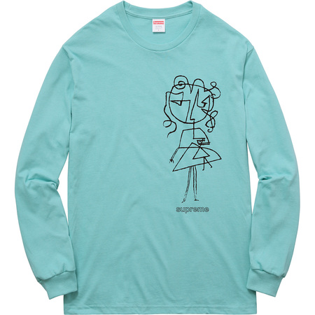 Sketch L/S Tee (Turquoise)