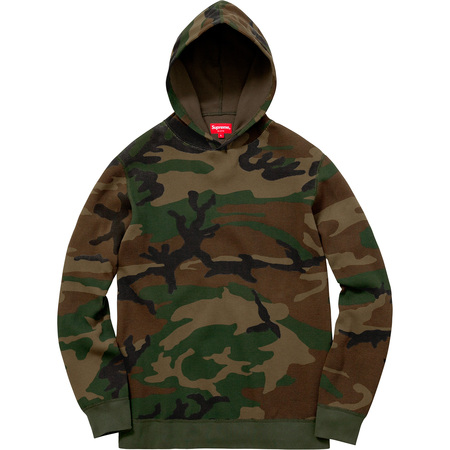 Hooded Waffle Thermal (Woodland Camo)