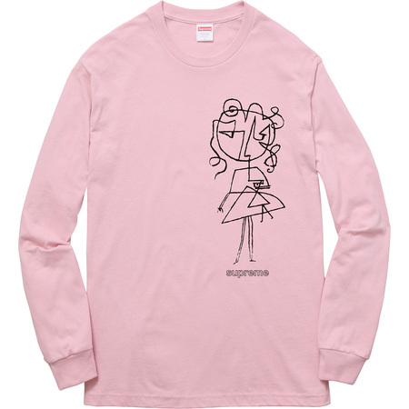 Sketch L/S Tee (Dusty Pink)