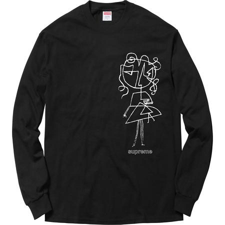 Sketch L/S Tee (Black)