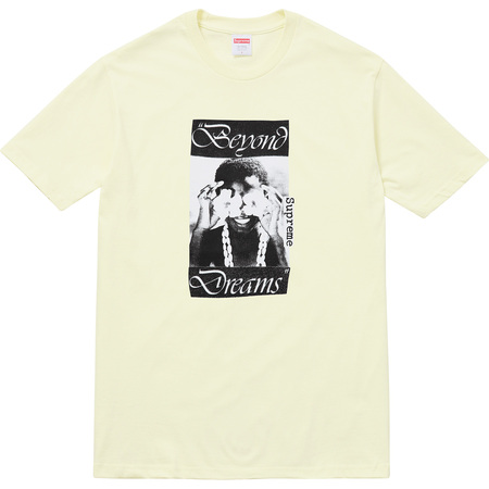 Beyond Dreams Tee (Pale Yellow)