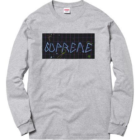 Blade Grid L/S Tee (Heather Grey)