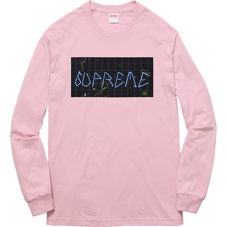 Blade Grid L/S Tee (Dusty Pink)