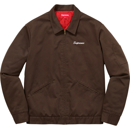 Supreme®/Playboy© Work Jacket (Brown)
