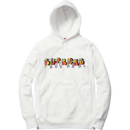 Blade Whole Car Hooded Sweatshirt (White)