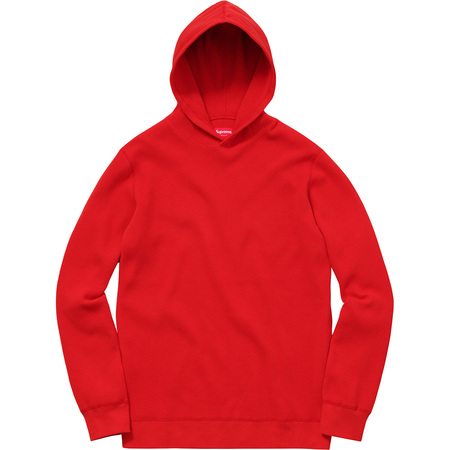 Hooded Waffle Thermal (Red)