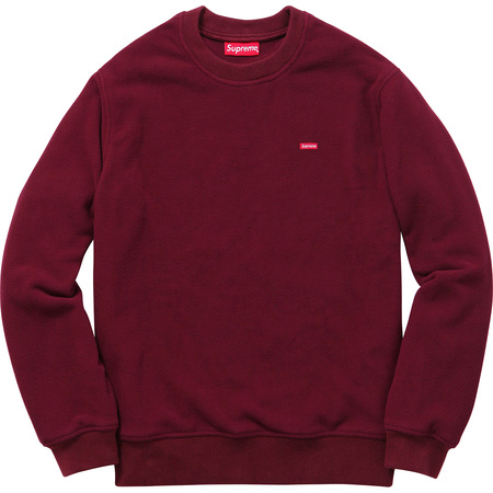 Polartec® Fleece Crewneck (Burgundy)