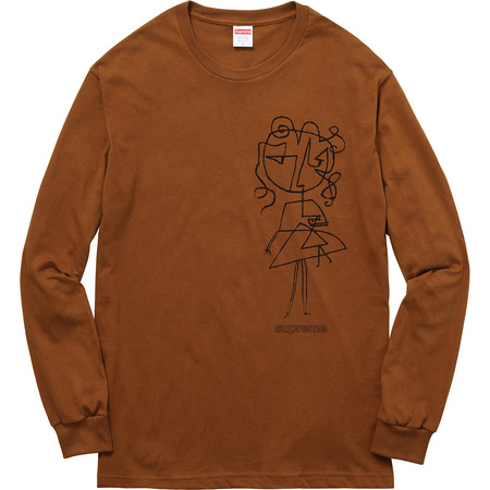 Sketch L/S Tee (Brown)