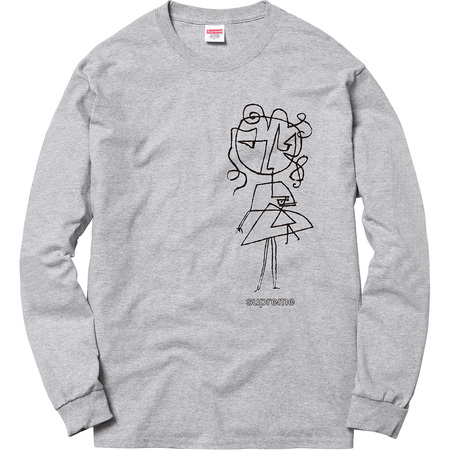 Sketch L/S Tee (Heather Grey)