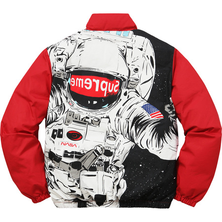 Astronaut Puffy Jacket (Red)