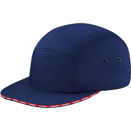 Visor Logo Camp Cap (Navy)