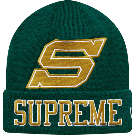 New Era® Big S Beanie (Green)