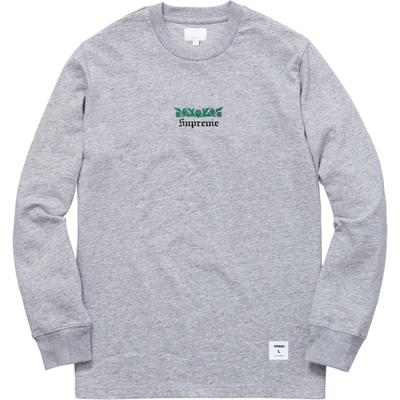 Thistle L/S Tee (Heather Grey)