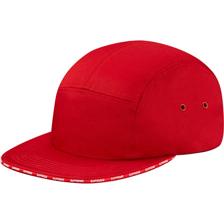 Visor Logo Camp Cap (Red)
