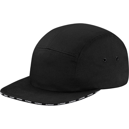 Visor Logo Camp Cap (Black)