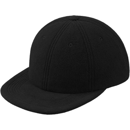 Polartec® Fleece 6-Panel (Black)