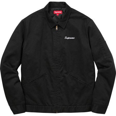 Supreme®/Playboy© Work Jacket (Black)