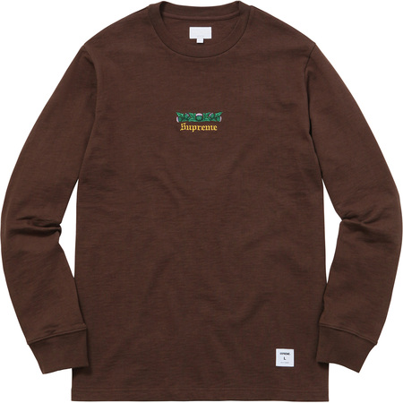 Thistle L/S Tee (Heather Brown)