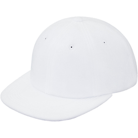 Polartec® Fleece 6-Panel (White)