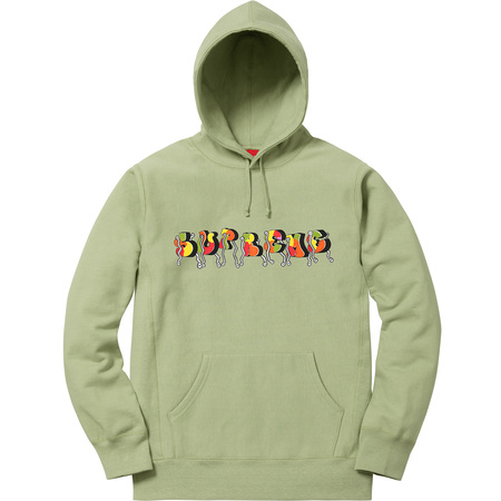 Blade Whole Car Hooded Sweatshirt (Sage)