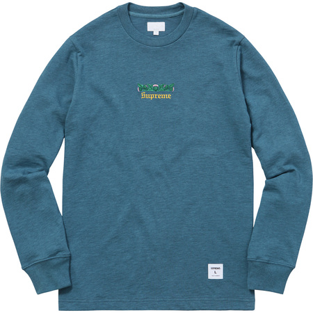 Thistle L/S Tee (Heather Teal)