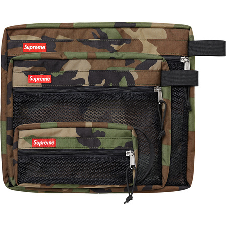 Mesh Organizer Bags (Set of 3) (Woodland Camo)