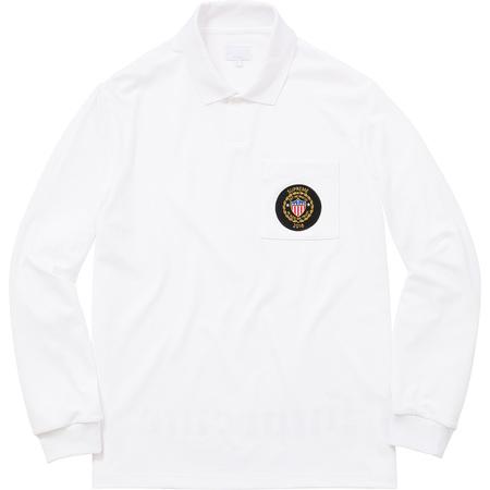 Sideline L/S Polo (White)