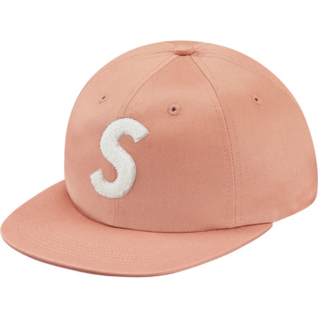 Chenille S Logo 6-Panel (Coral)