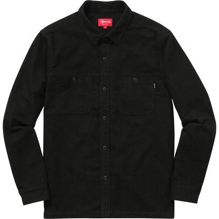 Moleskin Field Shirt (Black)