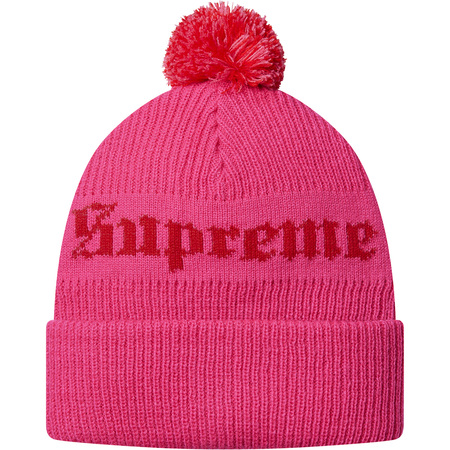 Old English Beanie (Pink)