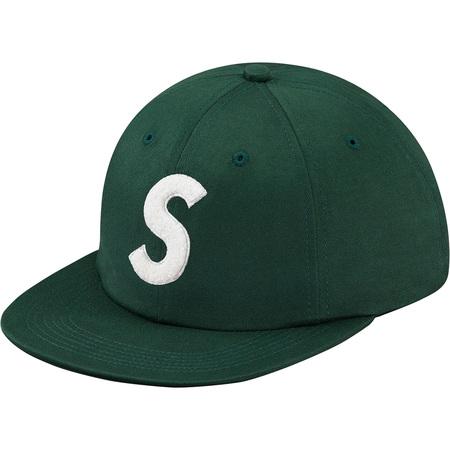 Chenille S Logo 6-Panel (Dark Green)