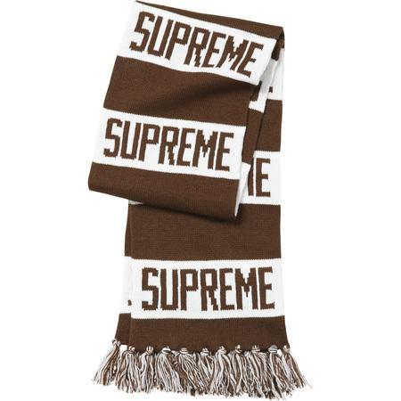 Bar Stripe Scarf (Brown)