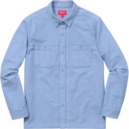 Moleskin Field Shirt (Light Blue)