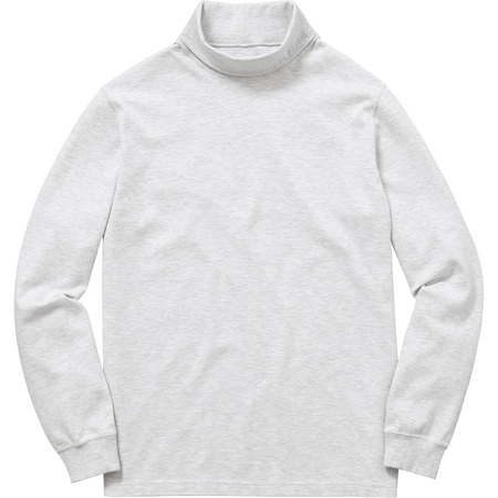 Solid L/S Turtleneck (Ash Grey)