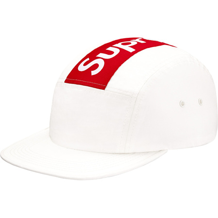 Top Stripe Camp Cap (White)