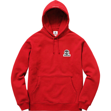 Supreme®/Timberland® Hooded Sweatshirt (Red)