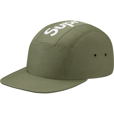 Top Stripe Camp Cap (Olive)