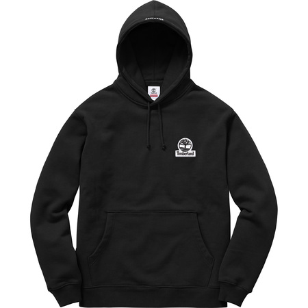 Supreme®/Timberland® Hooded Sweatshirt (Black)