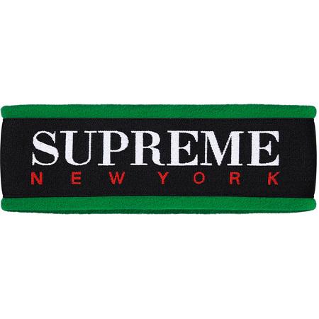 Fleece Headband (Green)