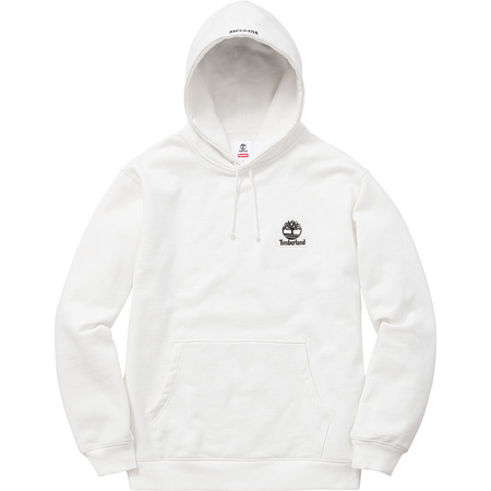 Supreme®/Timberland® Hooded Sweatshirt (White)