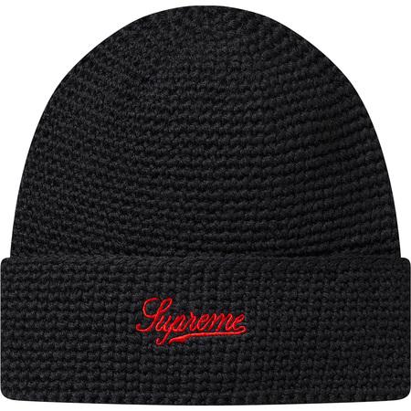 2-Tone Wool Beanie (Black)