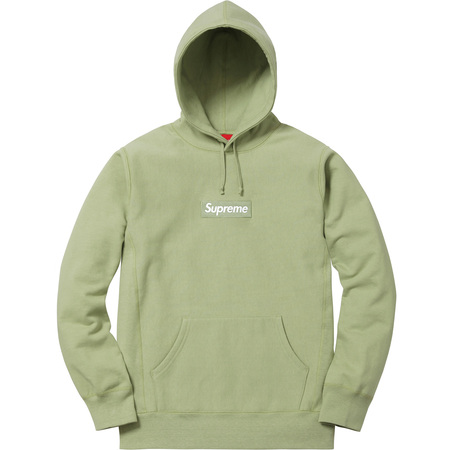Box Logo Hooded Sweatshirt (Sage)